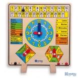 Calendario - Reloj - El tiempo